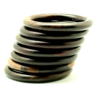 Ebony Bangle Bracelet #13041 - HORN.JEWELRY