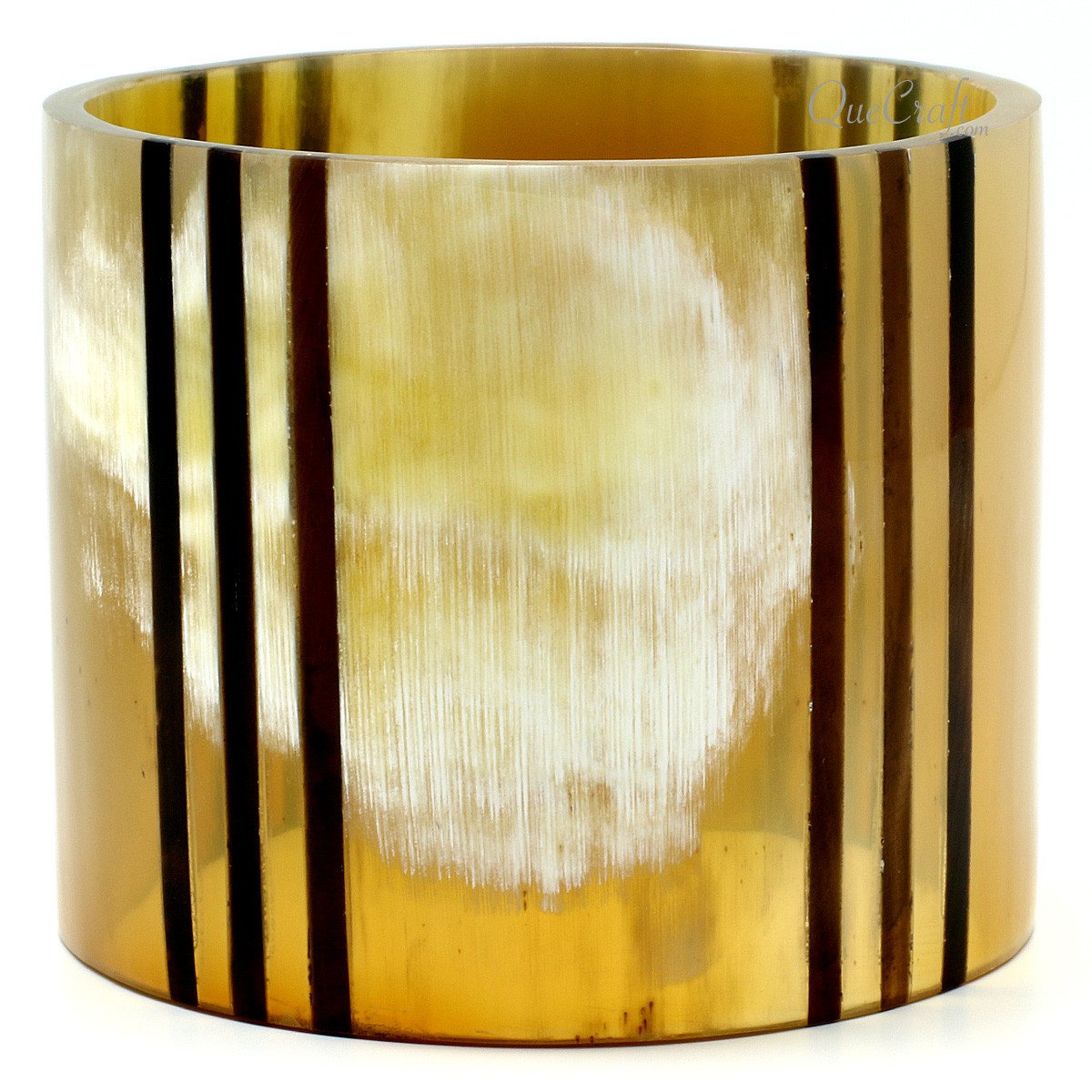 Horn Bangle Bracelet #10238 - HORN.JEWELRY by QueCraft