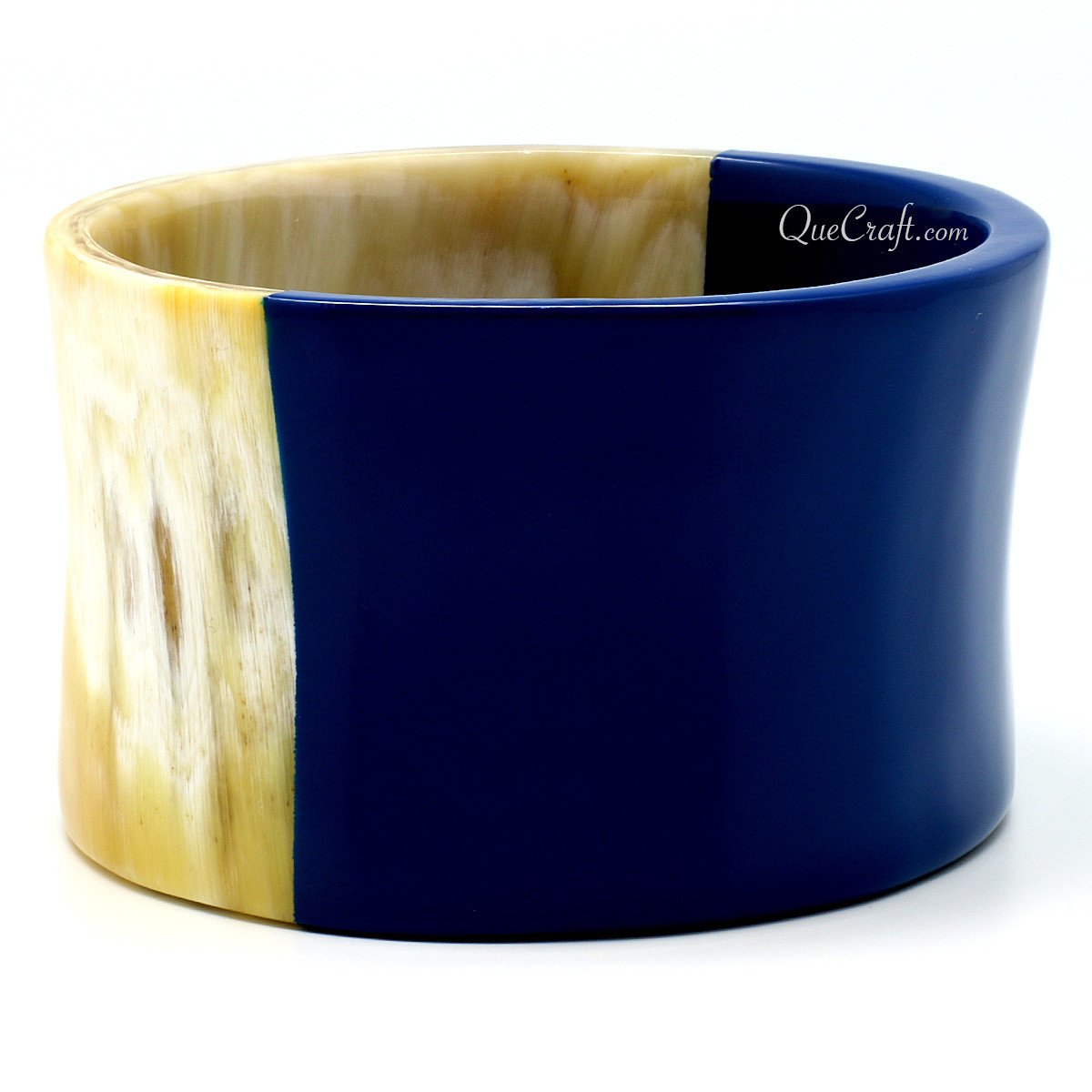 Horn & Lacquer Bangle Bracelet #11175 - HORN.JEWELRY