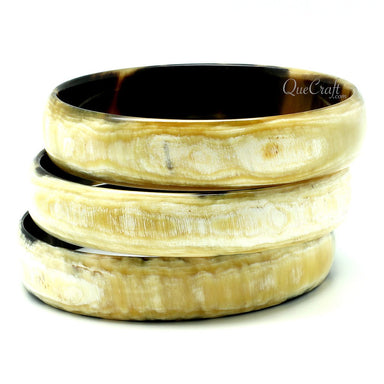Horn Bangle Bracelets #11959 - HORN.JEWELRY by QueCraft