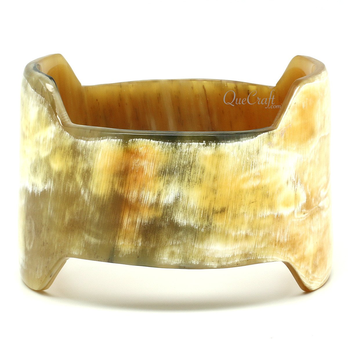 Horn Bangle Bracelet #12127 - HORN.JEWELRY by QueCraft