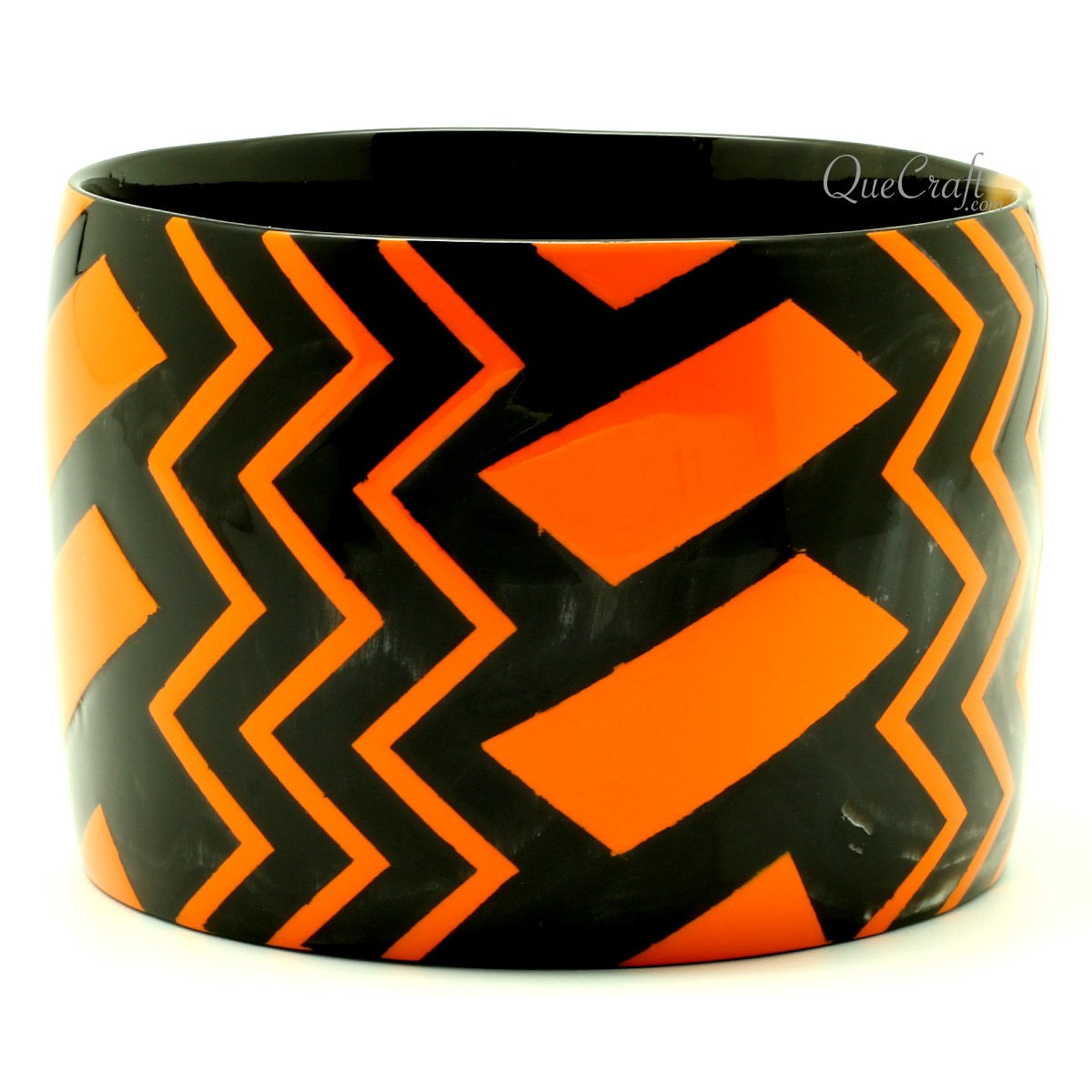 Horn & Lacquer Bangle Bracelet #13170 - HORN.JEWELRY