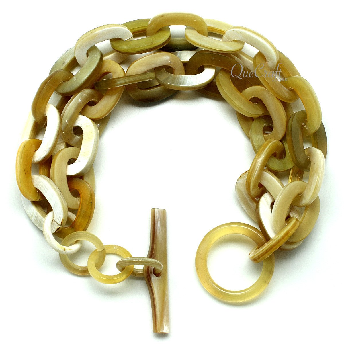 Horn Chain Bracelet #11942 - HORN.JEWELRY by QueCraft
