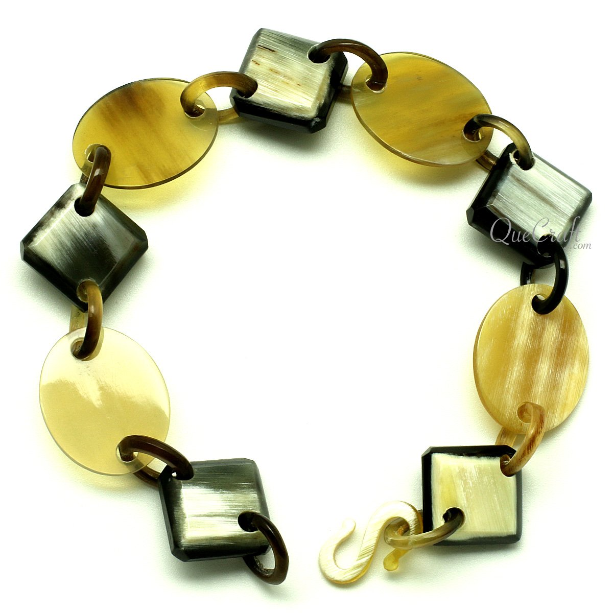 Horn Chain Bracelet #12988 - HORN.JEWELRY by QueCraft