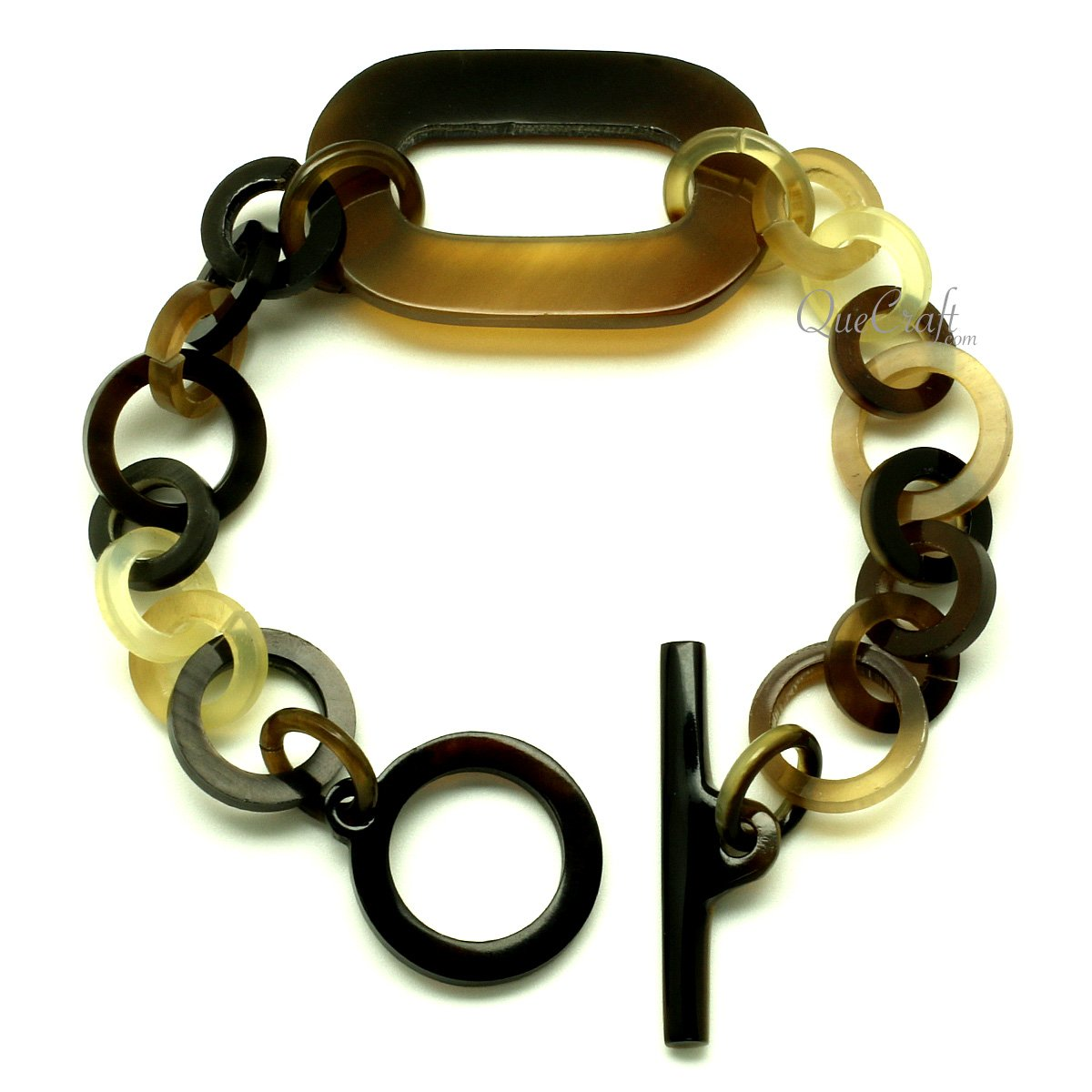 Horn Chain Bracelet #13096 - HORN.JEWELRY by QueCraft