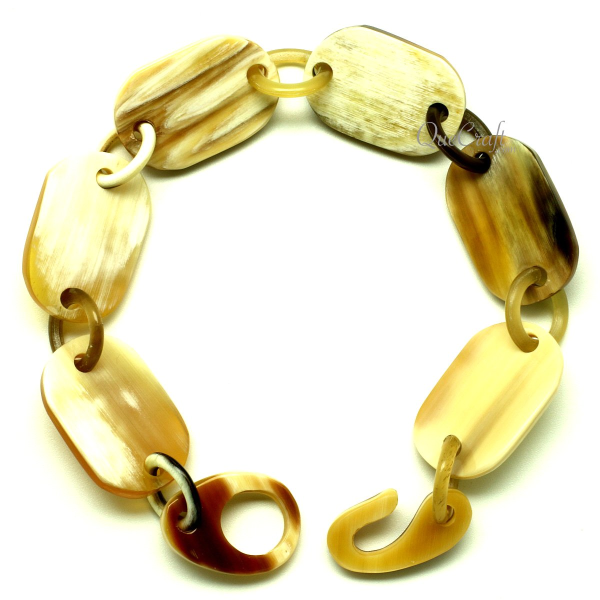 Horn Chain Bracelet #13154 - HORN.JEWELRY by QueCraft
