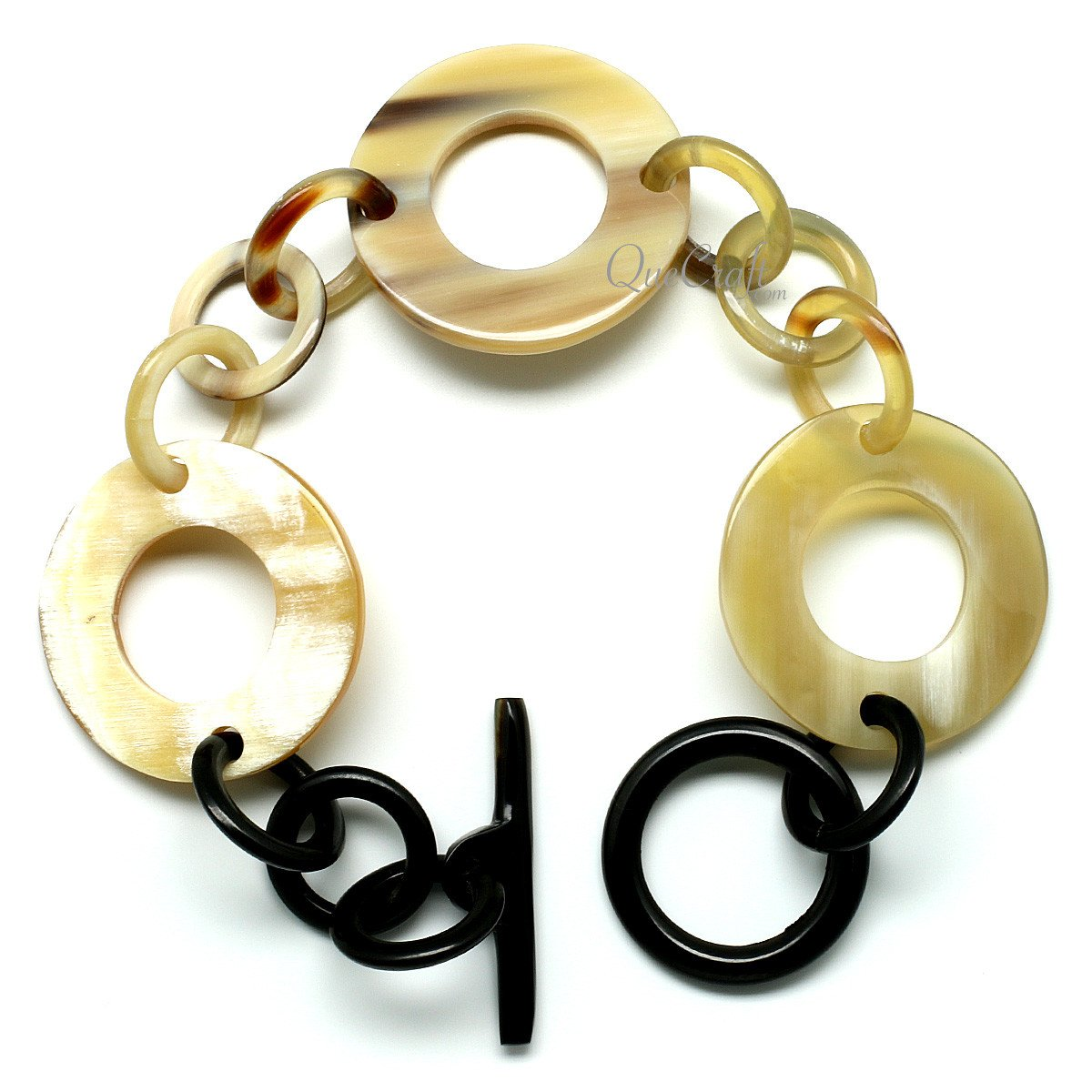 Horn Chain Bracelet #9936 - HORN.JEWELRY by QueCraft