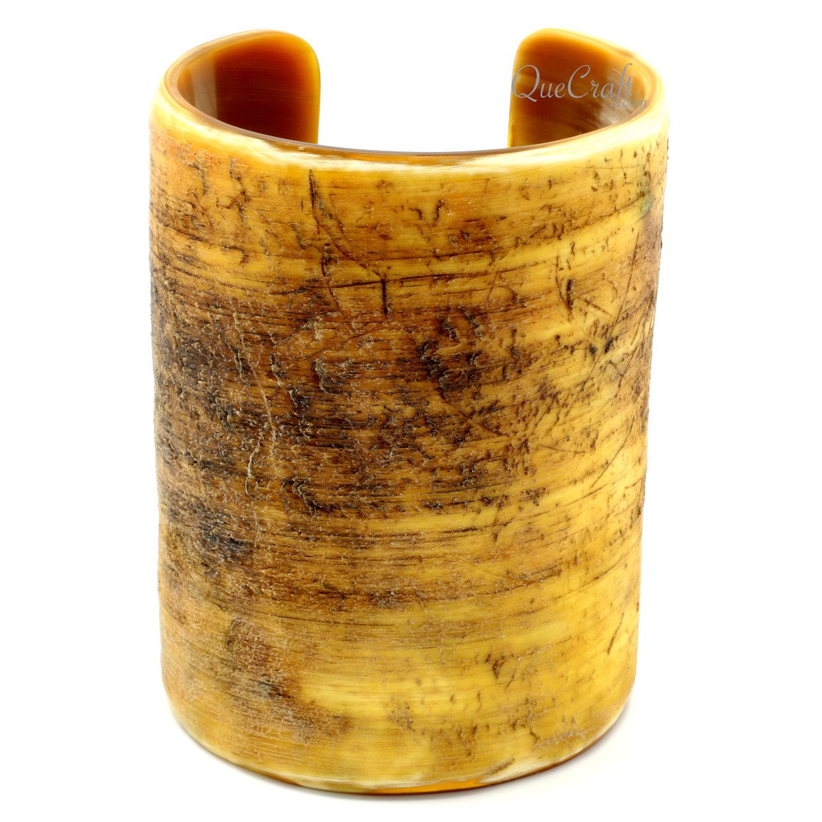 Horn Cuff Bracelet #11661 - HORN.JEWELRY by QueCraft