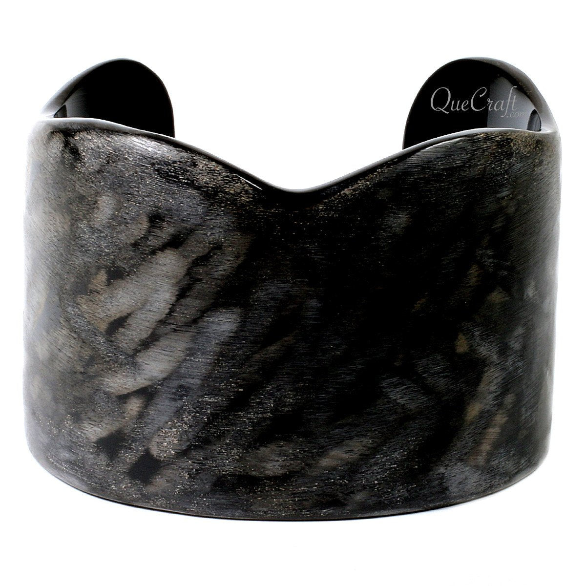 Horn Cuff Bracelet #12659 - HORN.JEWELRY by QueCraft