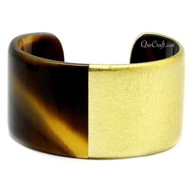 Horn & Lacquer Cuff Bracelet #4825 - HORN.JEWELRY