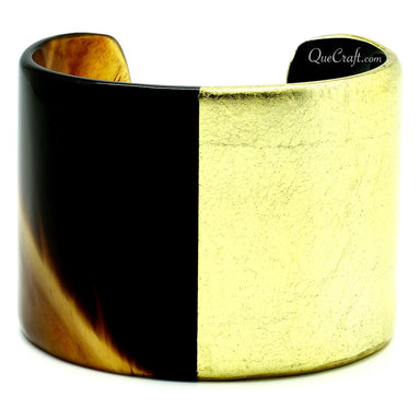 Horn & Lacquer Cuff Bracelet #9648 - HORN.JEWELRY