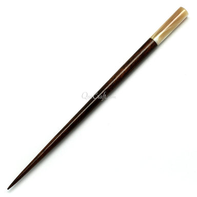 Rosewood & Shell Hair Stick #10751 - HORN.JEWELRY
