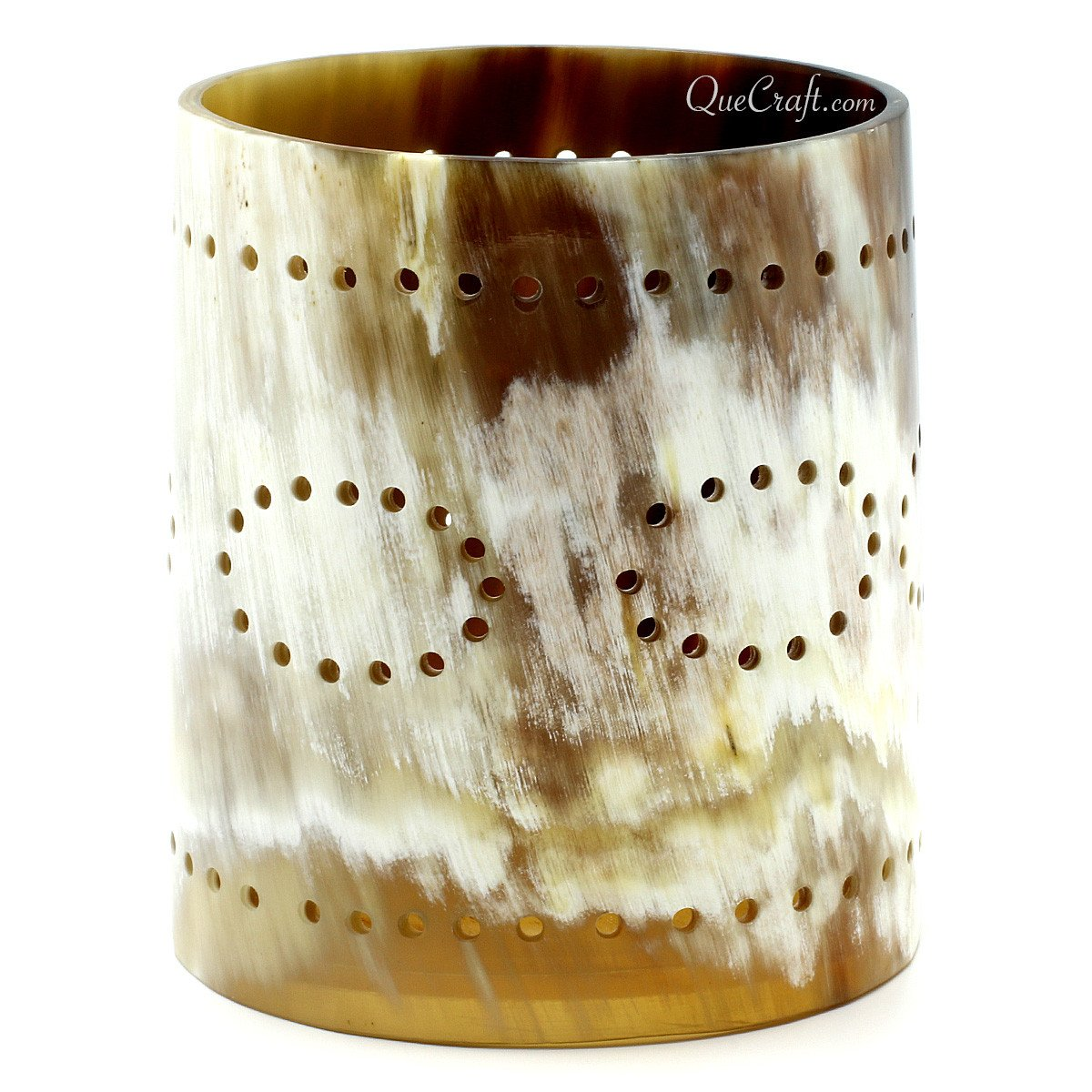 Horn Candle Holder #11284 - HORN.JEWELRY