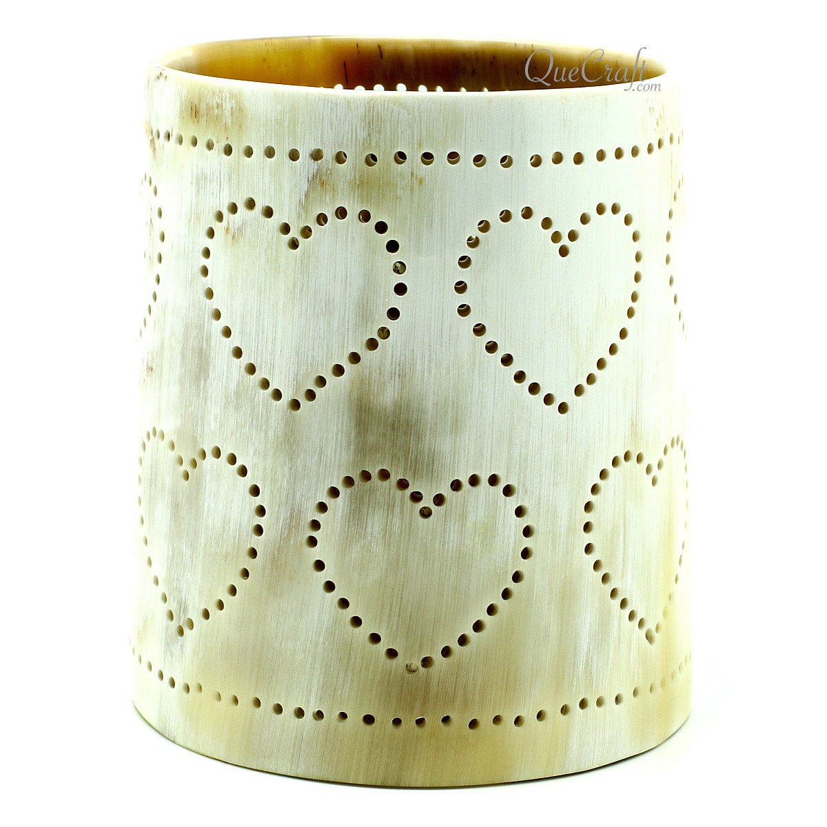 Horn Candle Holder #11883 - HORN.JEWELRY