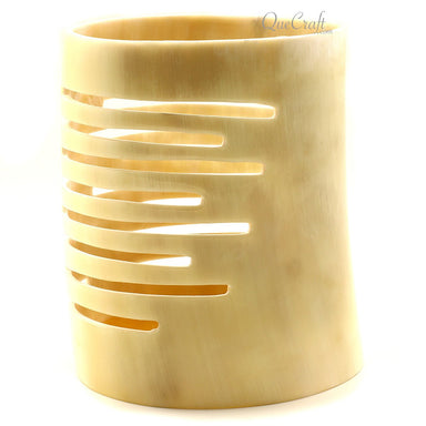 Horn Candle Holder #12280 - HORN.JEWELRY