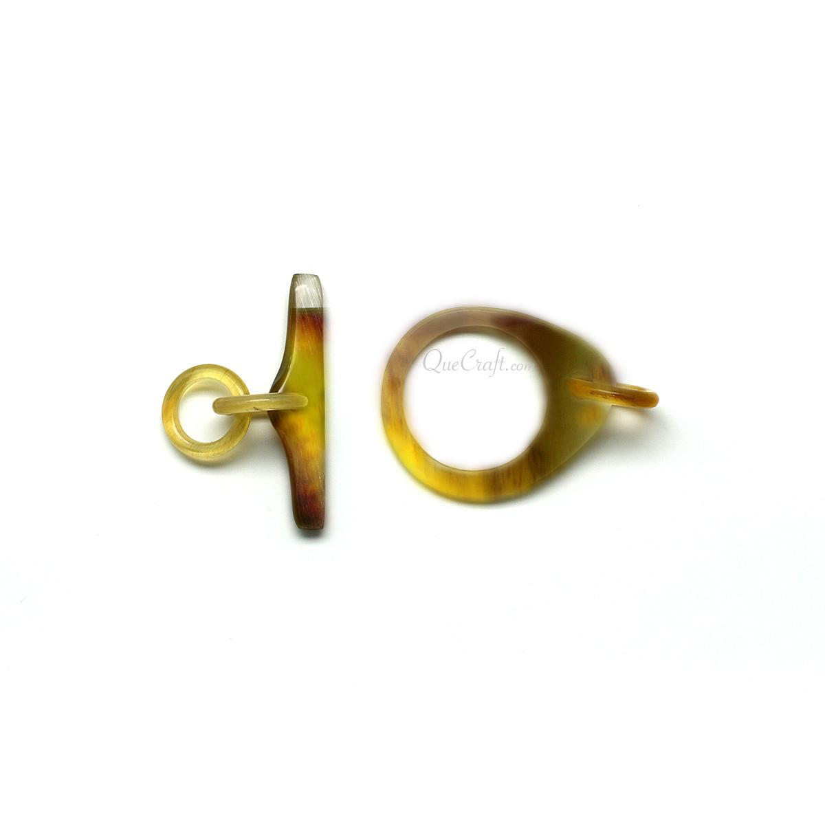Horn Toggle Clasp #13456 - HORN.JEWELRY