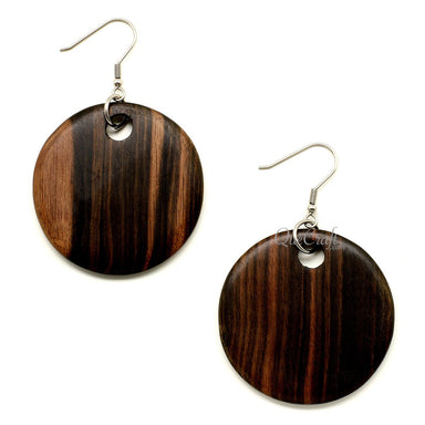 Ebony Earrings #12204 - HORN.JEWELRY