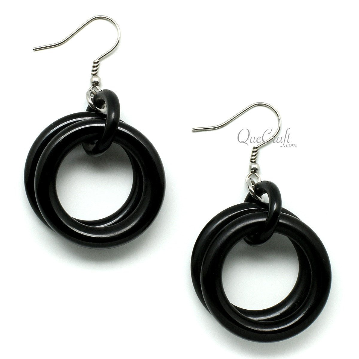 Horn Earrings #10037 - HORN.JEWELRY by QueCraft