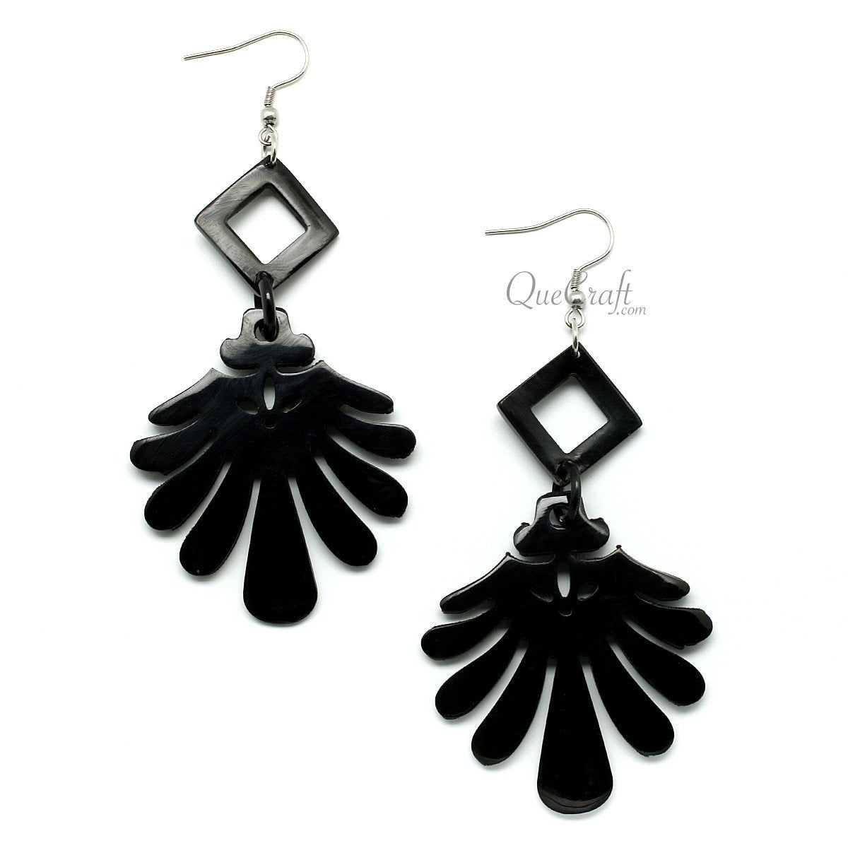 Horn Earrings #10433 - HORN.JEWELRY by QueCraft
