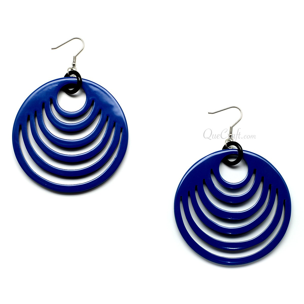 Horn & Lacquer Earrings #11121 - HORN.JEWELRY