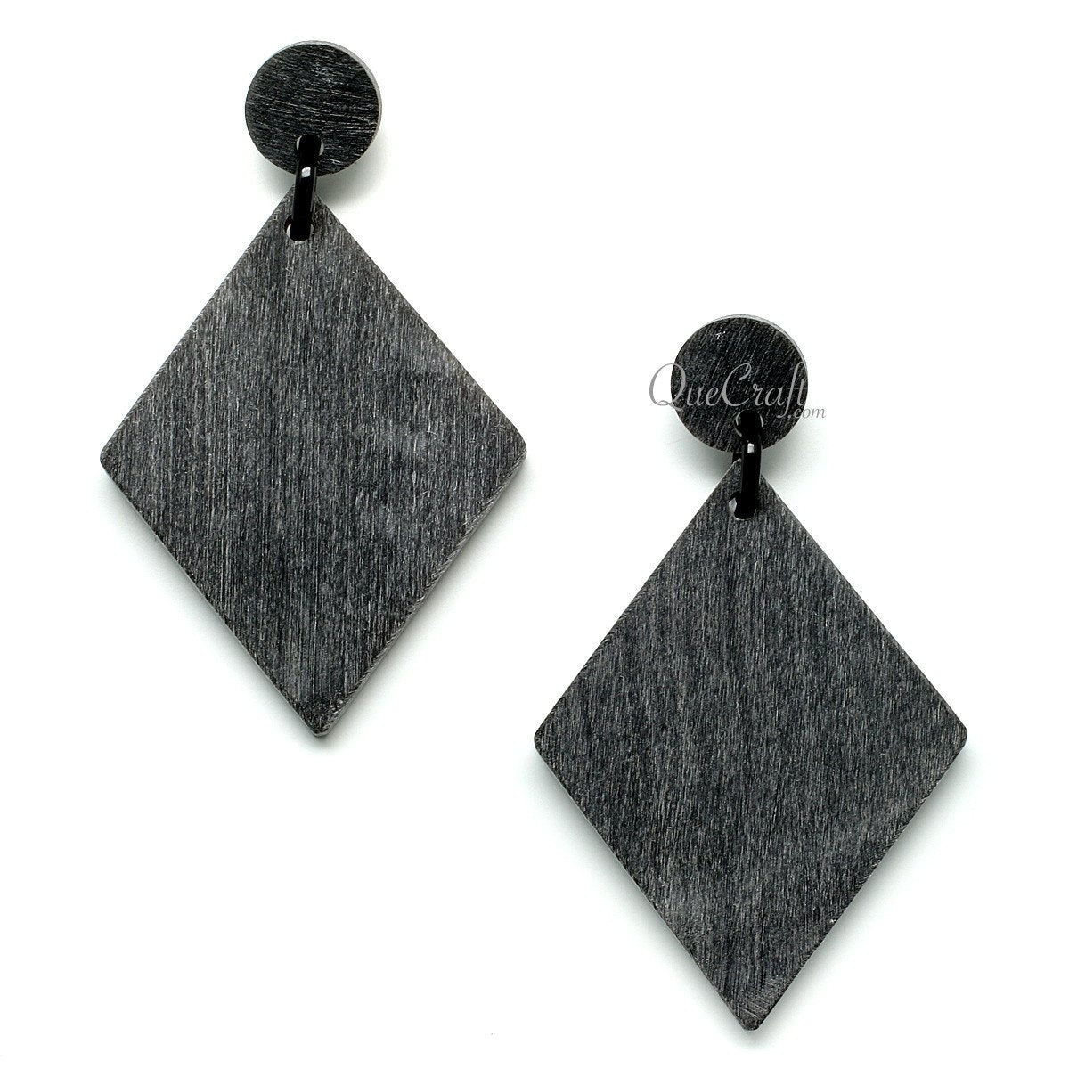 Horn Earrings #11694 - HORN.JEWELRY by QueCraft