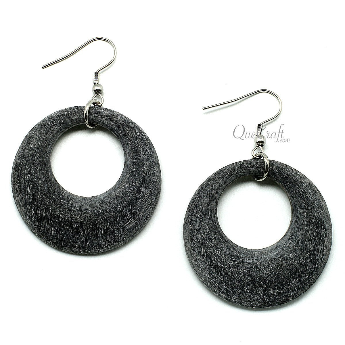 Horn Earrings #11701 - HORN.JEWELRY by QueCraft