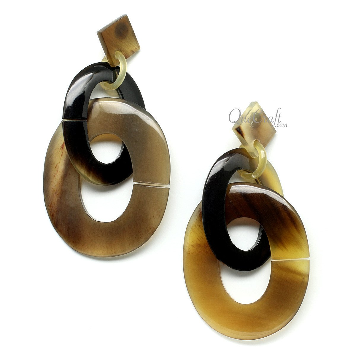 Horn Earrings #11786 - HORN.JEWELRY