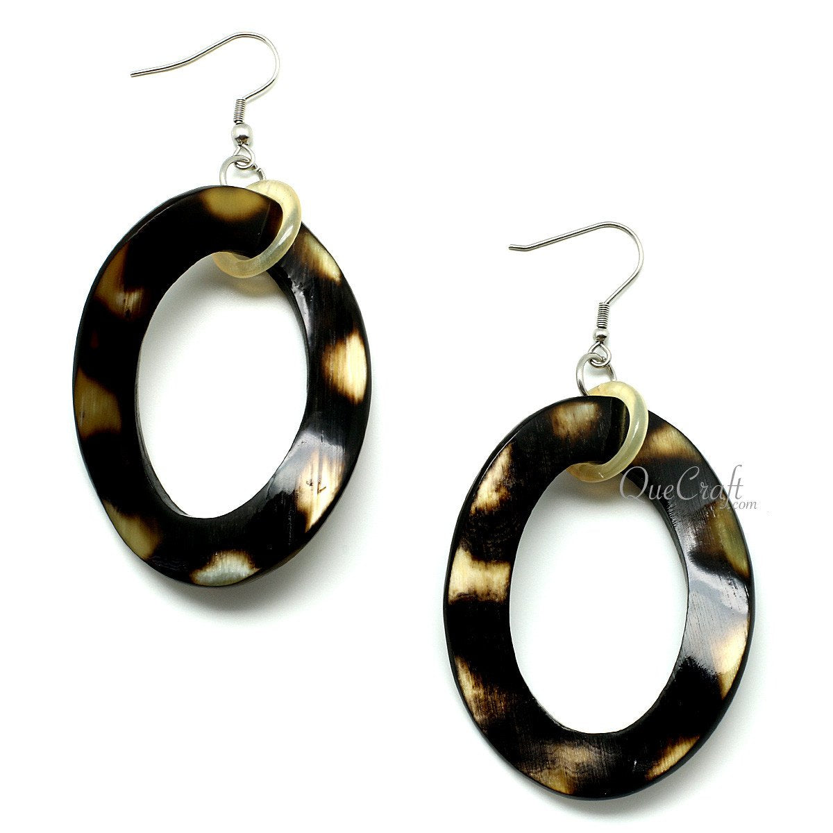 Horn Earrings #11920 - HORN.JEWELRY by QueCraft
