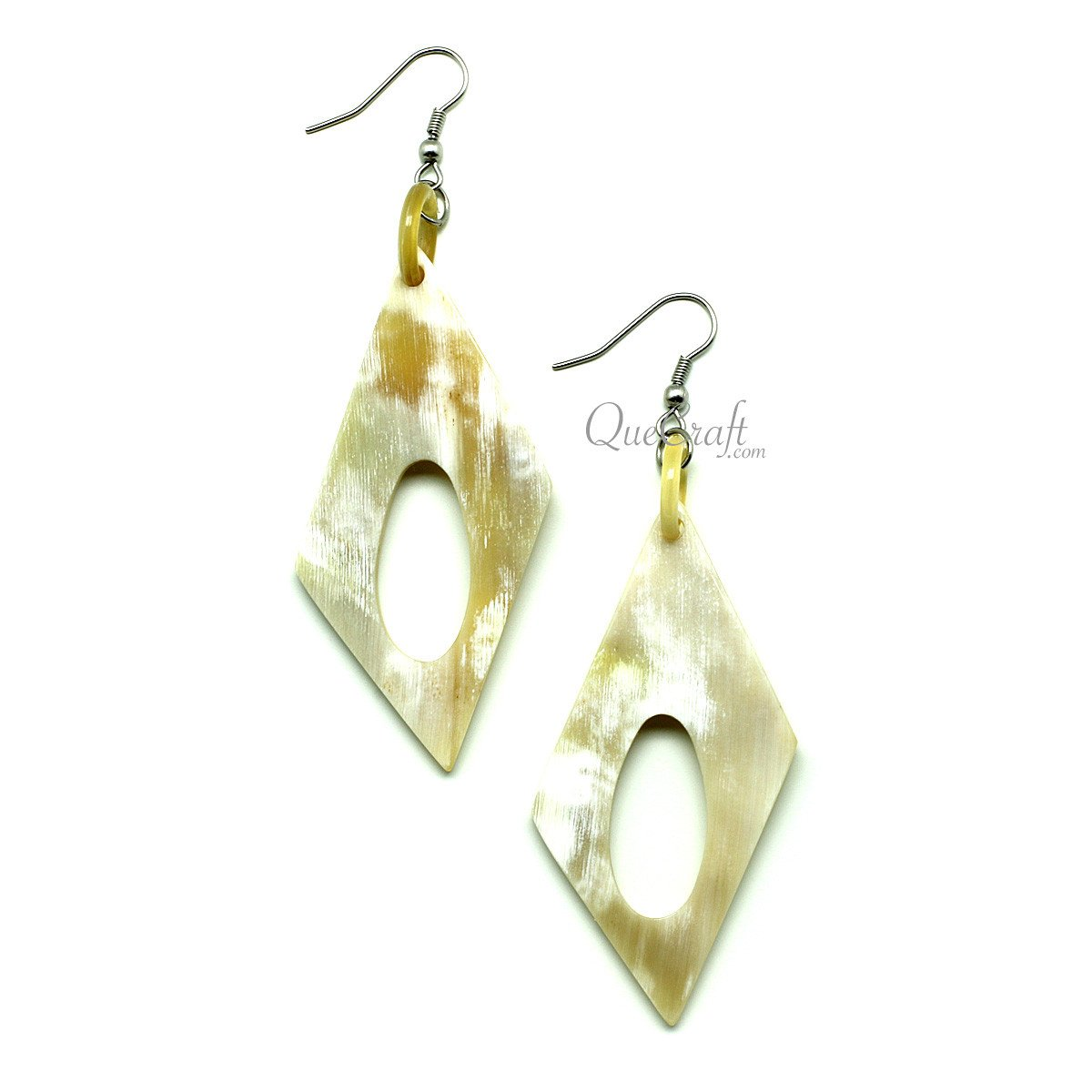 Horn Earrings #12062 - HORN.JEWELRY