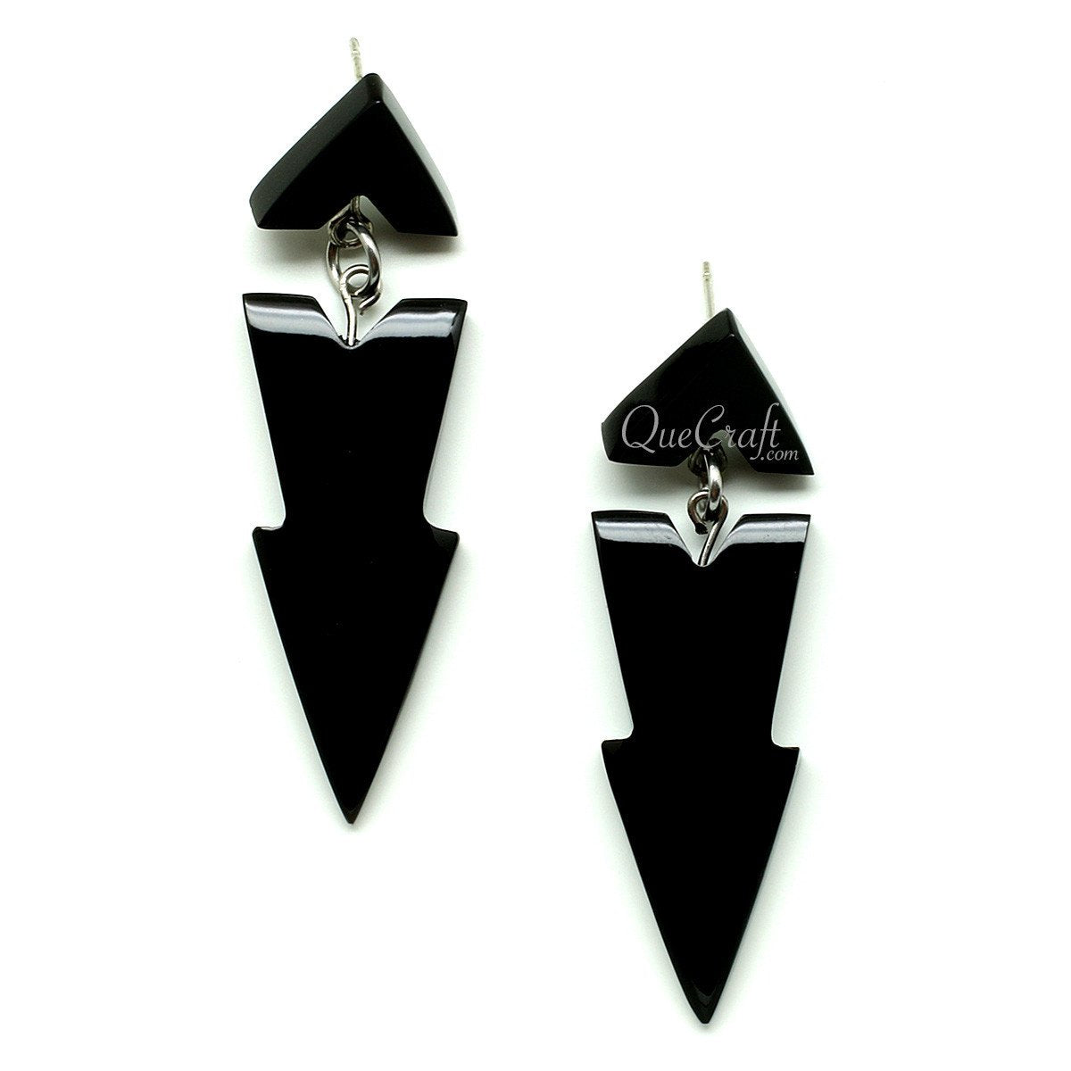 Horn Earrings #12081 - HORN.JEWELRY