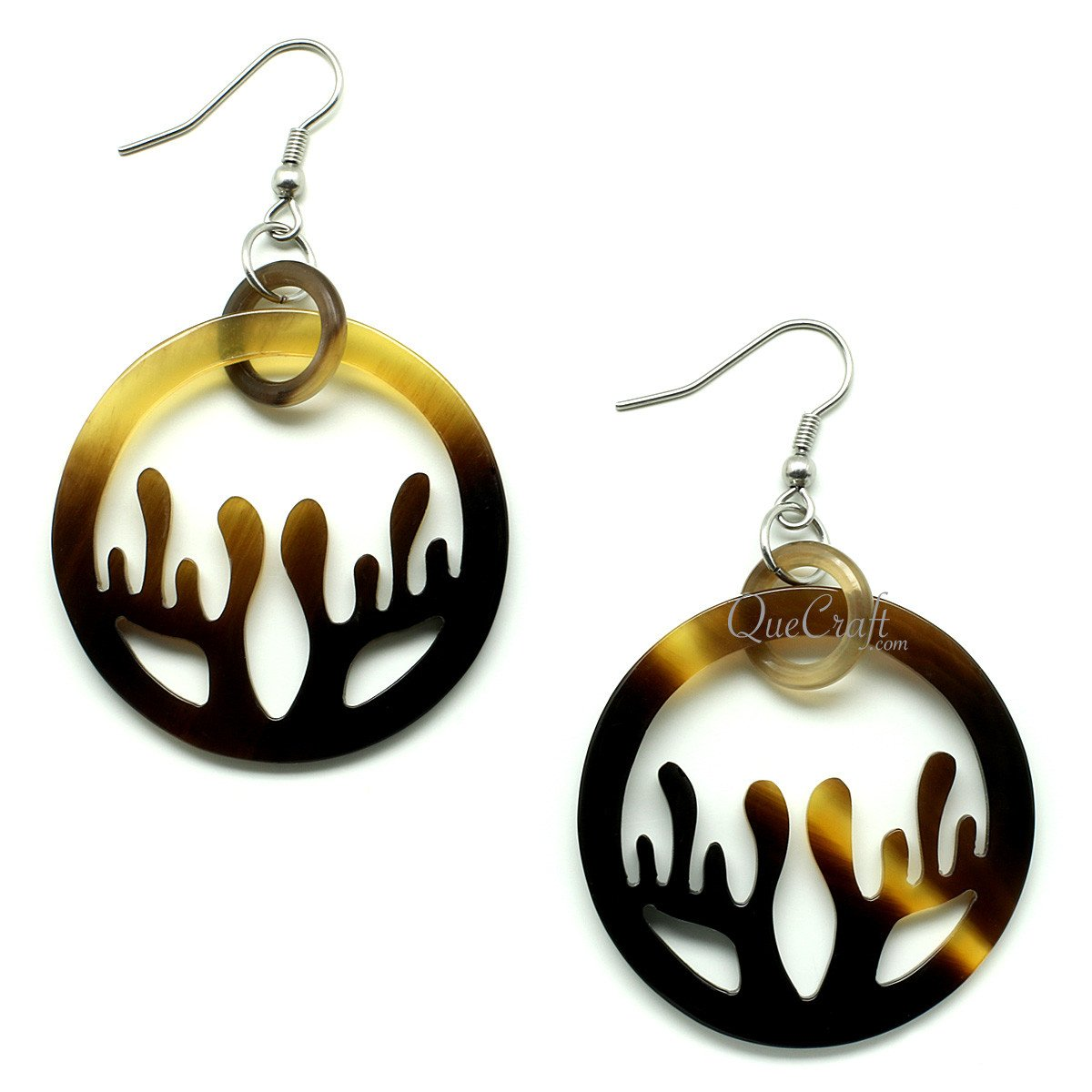 Horn Earrings #12155 - HORN.JEWELRY