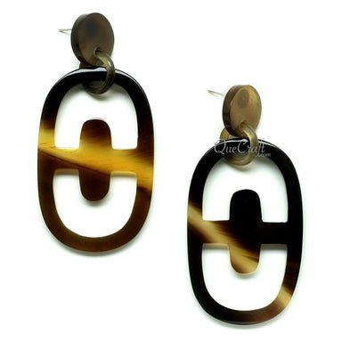 Horn Earrings #12168 - HORN.JEWELRY by QueCraft