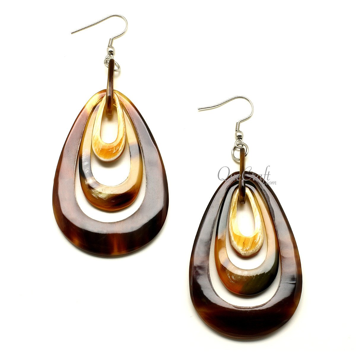 Horn Earrings #12287 - HORN.JEWELRY