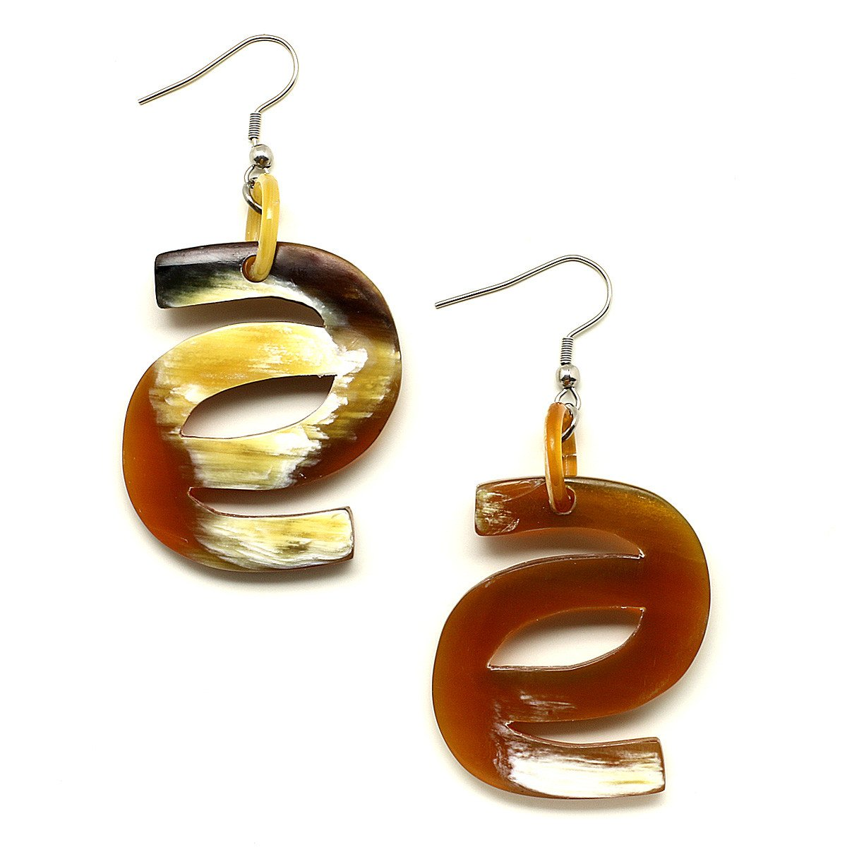 Horn Earrings #12298 - HORN.JEWELRY