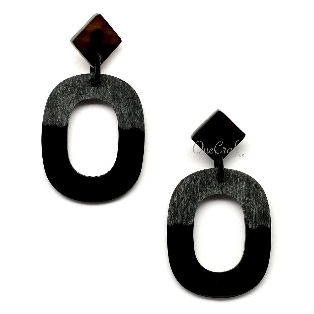 Horn Earrings #12562 - HORN.JEWELRY by QueCraft
