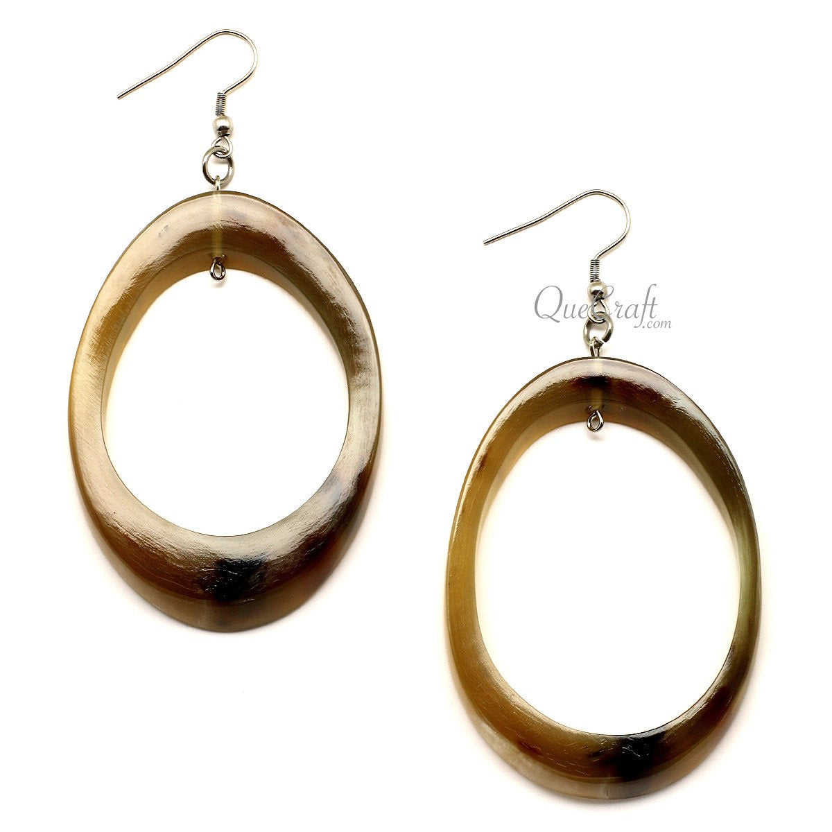 Horn Earrings #12640 - HORN.JEWELRY