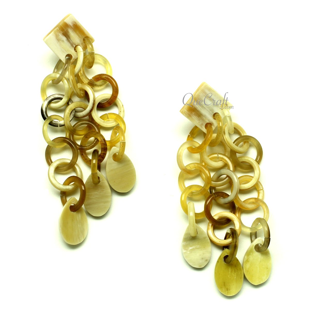 Horn Earrings #13025 - HORN.JEWELRY