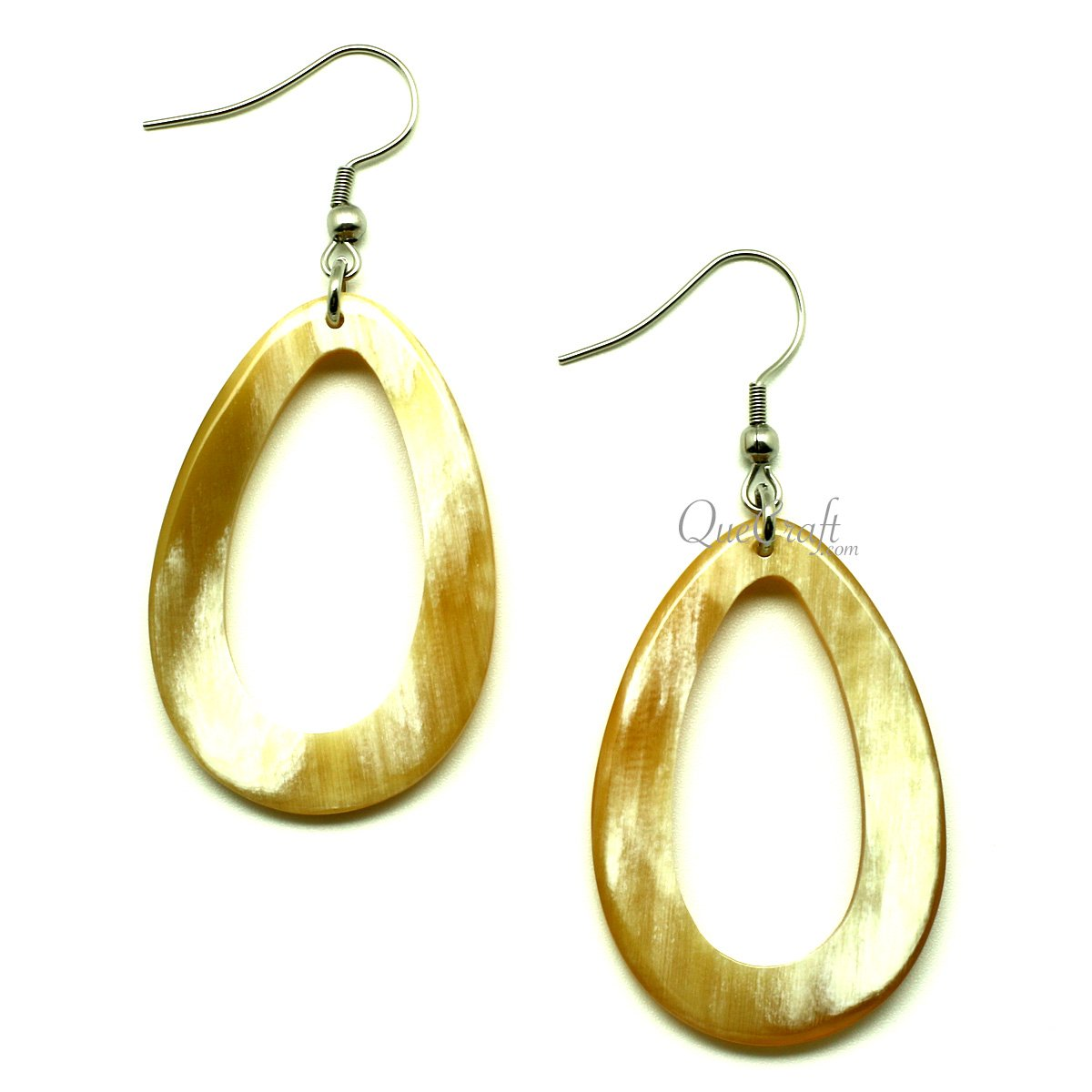 Horn Earrings #13043 - HORN.JEWELRY by QueCraft
