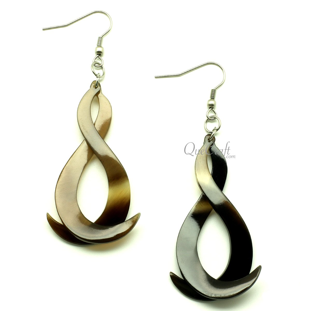 Horn Earrings #13182 - HORN.JEWELRY by QueCraft