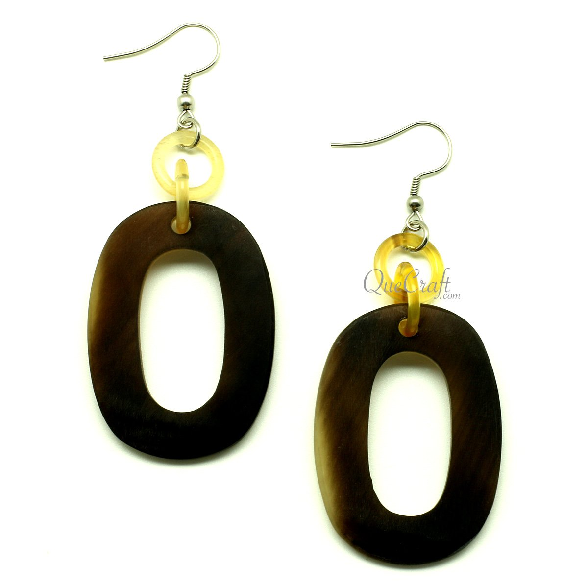 Horn Earrings #13244 - HORN.JEWELRY by QueCraft