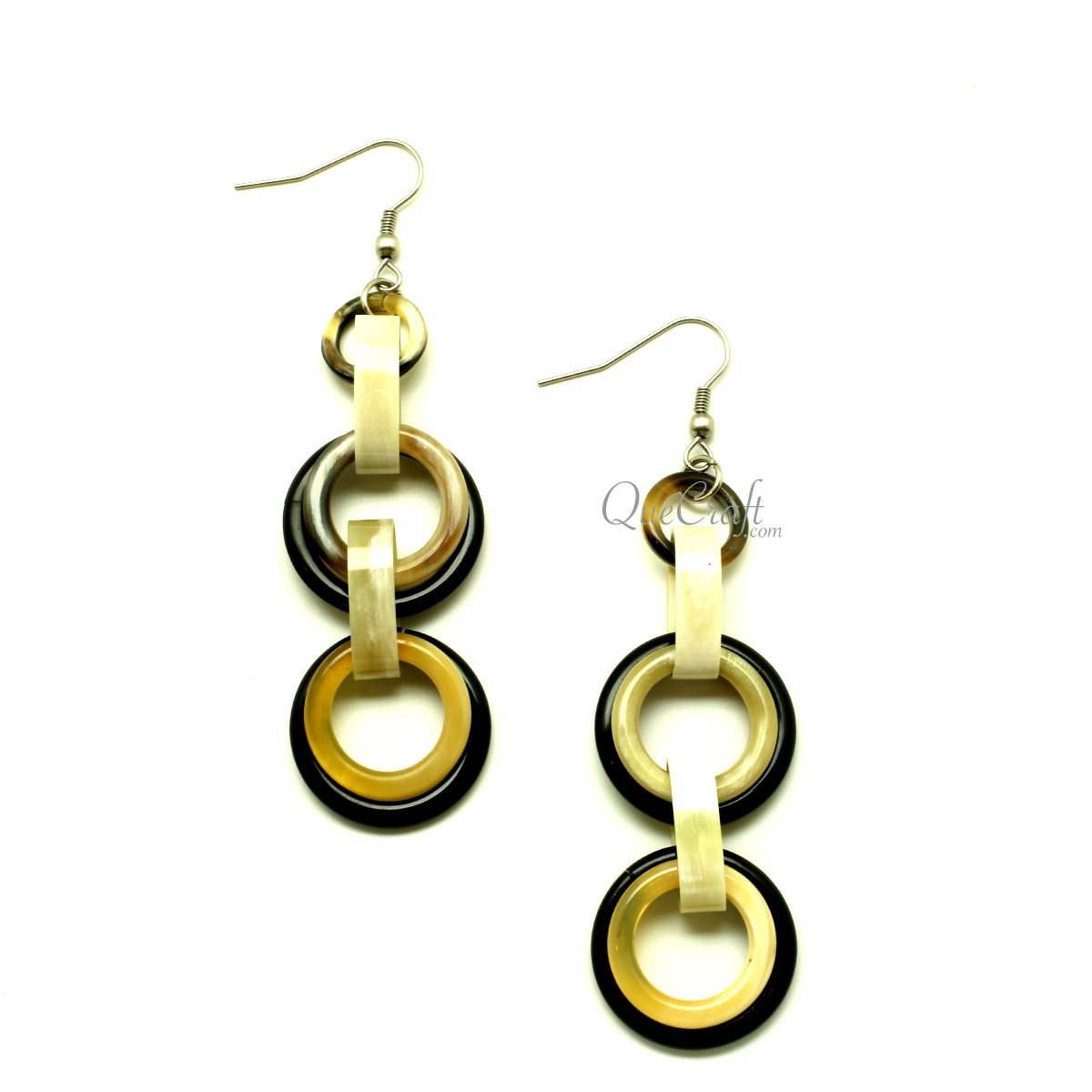 Horn Earrings #13415 - HORN.JEWELRY by QueCraft
