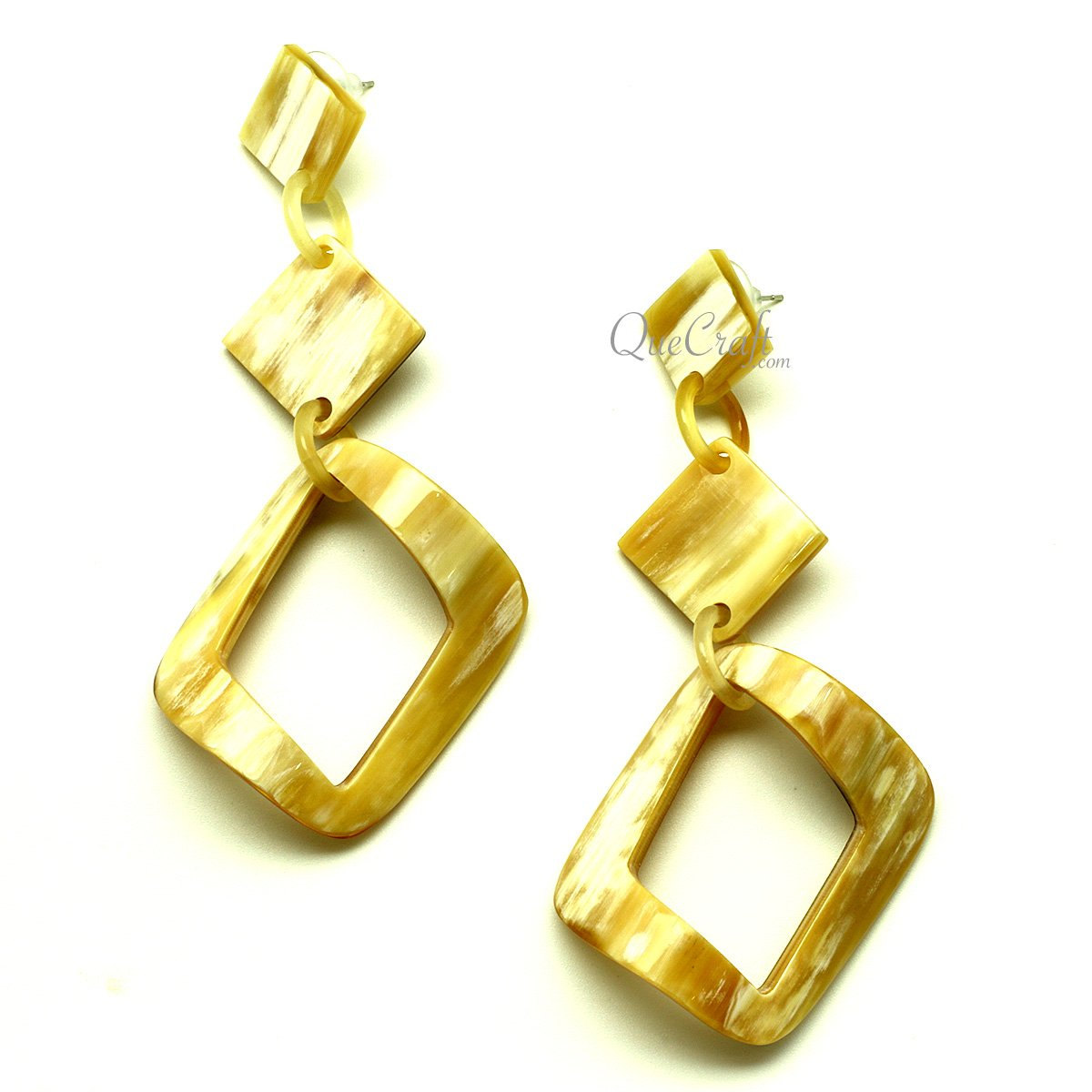 Horn Earrings #13451 - HORN.JEWELRY by QueCraft
