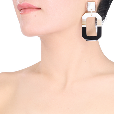Horn Earrings #13478 - HORN.JEWELRY by QueCraft