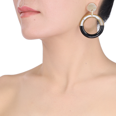 Horn Earrings #13479 - HORN.JEWELRY