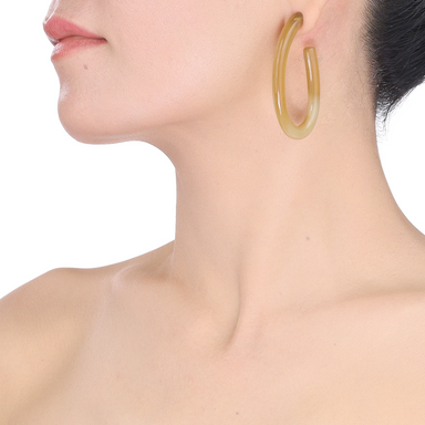 Horn Earrings #13481 - HORN.JEWELRY