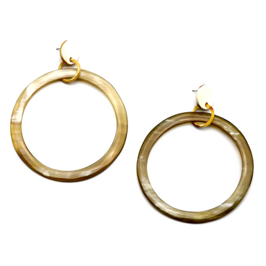 Horn Earrings #13505 - HORN.JEWELRY