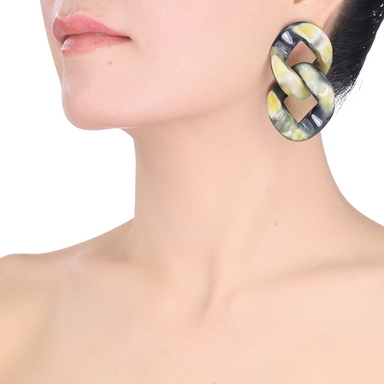 Horn Earrings #13724 - HORN.JEWELRY by QueCraft