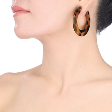 Horn Earrings #13776 - HORN.JEWELRY by QueCraft