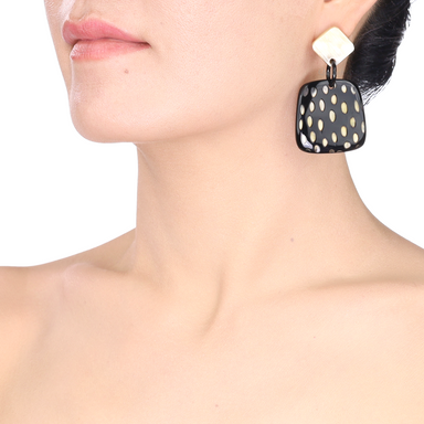 Horn Earrings #13781 - HORN.JEWELRY by QueCraft