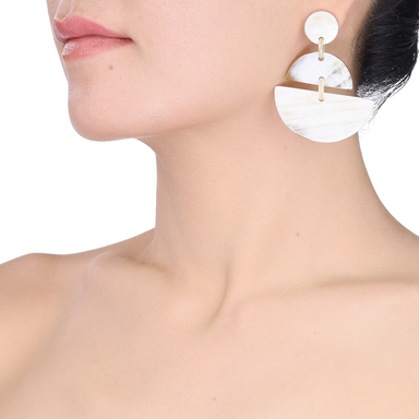 Horn Earrings #13790 - HORN.JEWELRY by QueCraft